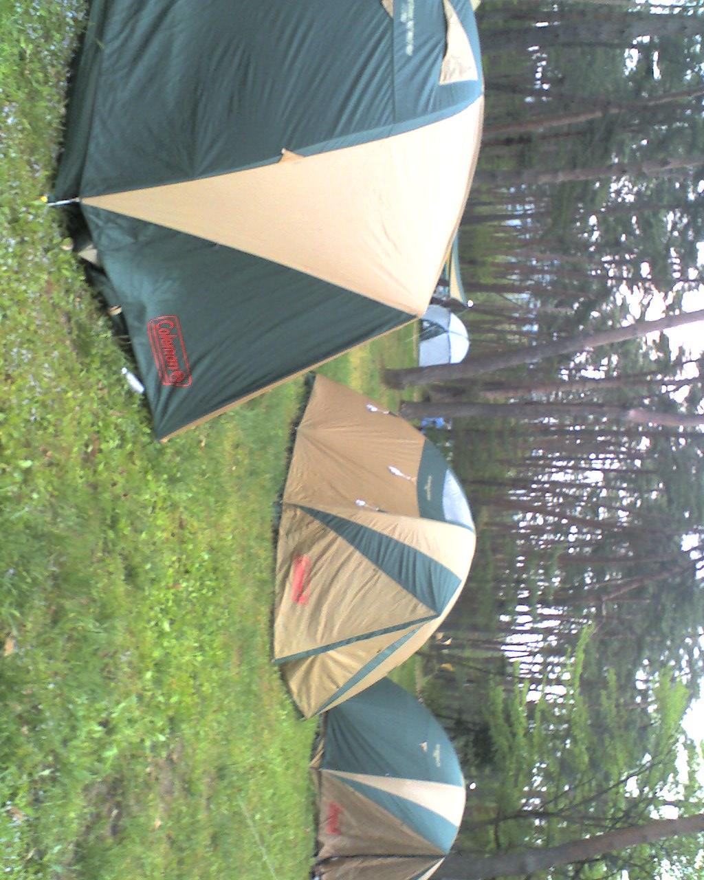 リフレッシュでキャンプです