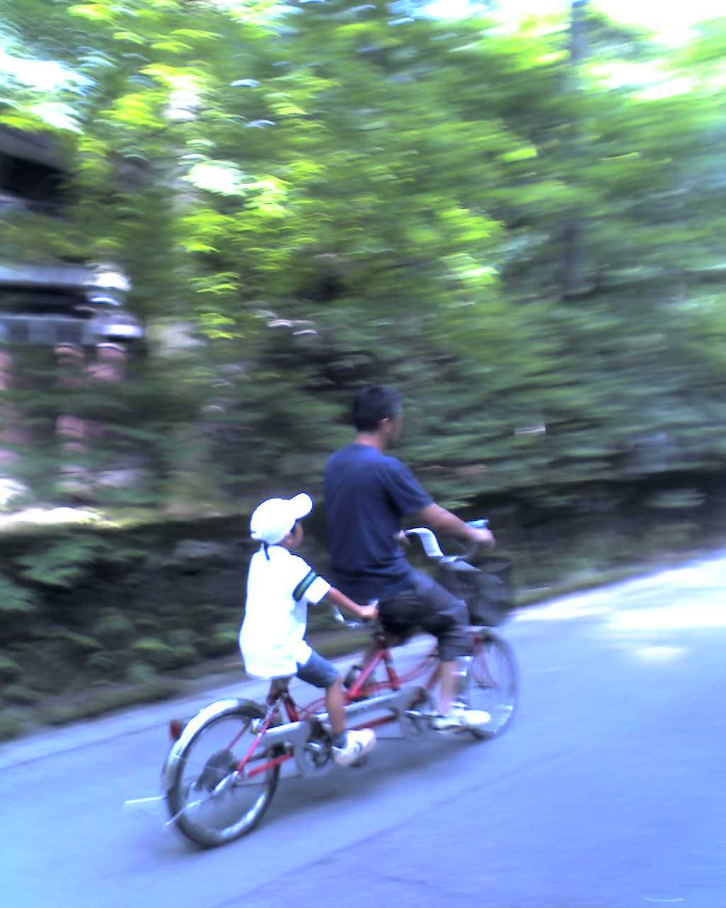 軽井沢で自転車